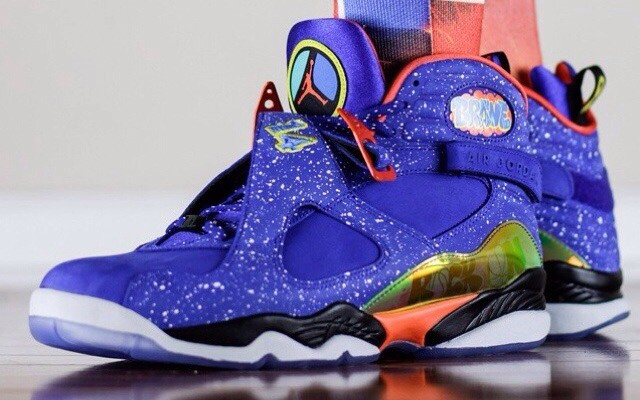 Air Jordan 8 Retro 'Doernbecher' – On-Feet Look - WearTesters