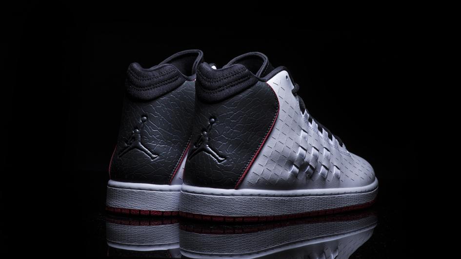 Jordan Illusion White: Black - Red 2