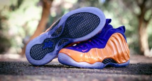 Nike Air Foamposite One 'Knicks' – Up Close & Personal