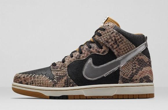 ... Nike Dunk CMFT Premium 'Crocodile Print'2 ...