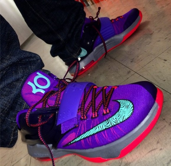 Nike KD 7 'Cave Purple' - Quick Look + Release Info ...