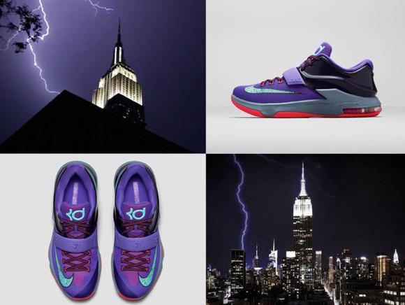 Hot Sale Nike KD 7 Lightning 534