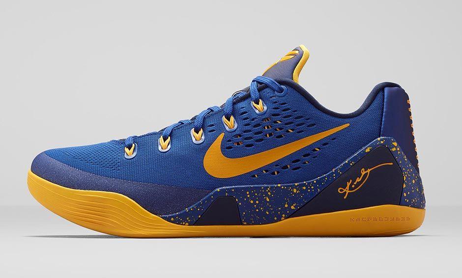 Nike Kobe 9 EM 'Gym Blue' - Release Information - WearTesters Kobe 8 Yellow And Purple