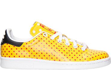Adidas Stan Smith Yellow Polka Dot