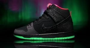 Premier x Nike SB Dunk High Premium 'Northern Lights' – Detailed Look + Release Info