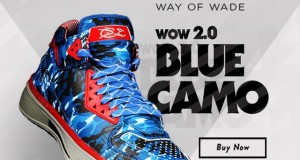 Li-Ning Way of Wade 2.0 'Blue Camo' – Available Now