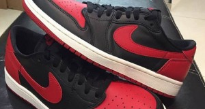 Air Jordan 1 Low Retro OG Black/ Red