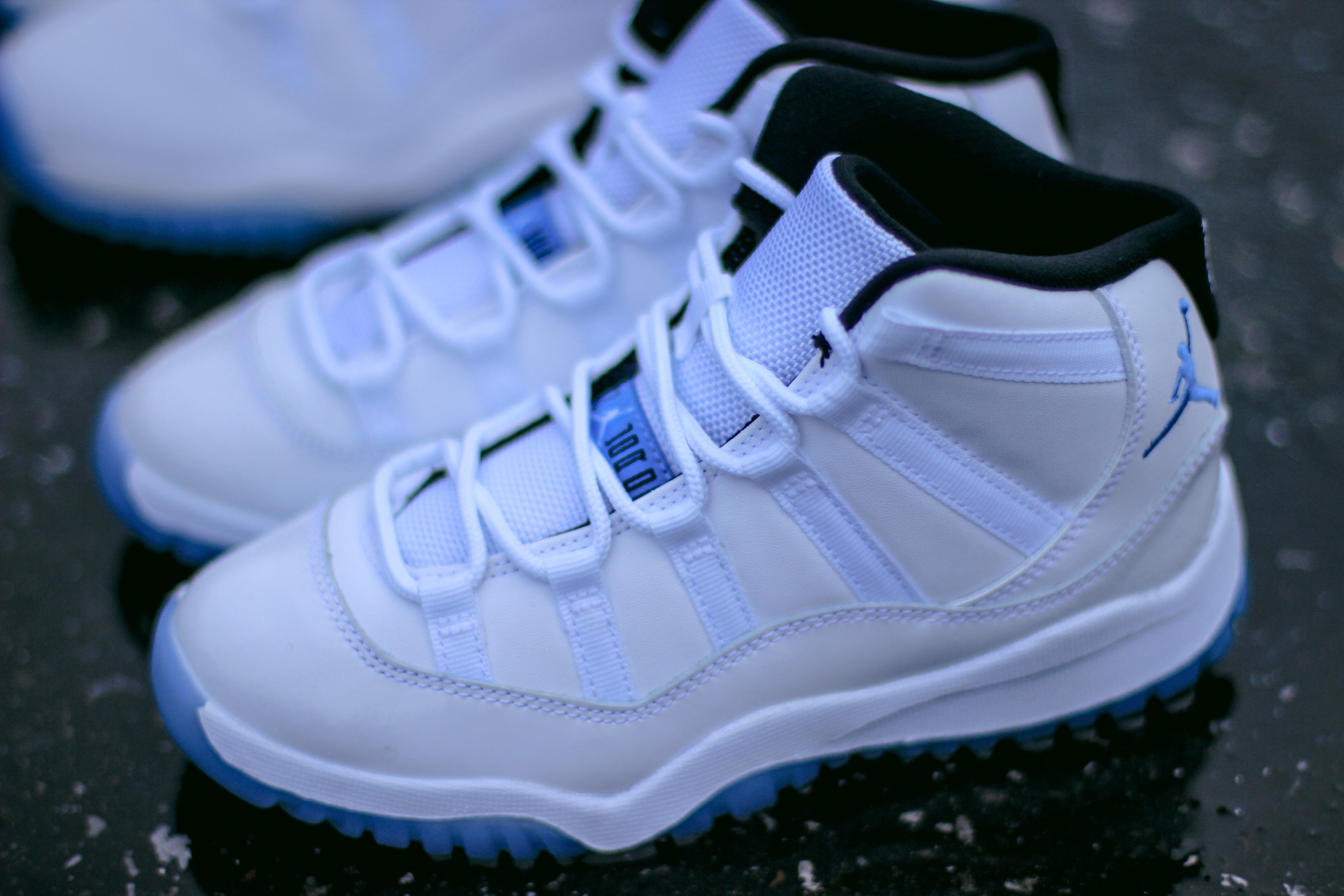 6b8eab64766e Air Jordan 11 Blue Legend Youth Size 6