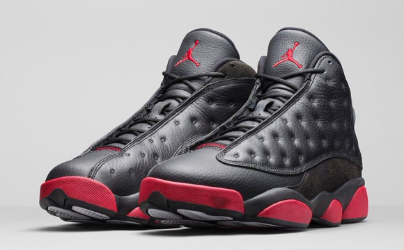 ... Air Jordan 13 Retro Black:Gym Red - Official Look + Release Info 1 ...