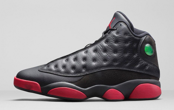Air Jordan 13 Retro Black:Gym Red - Official Look + Release Info 2 ...