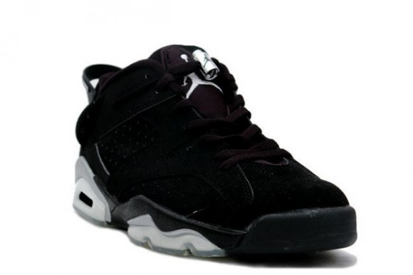 detailed look e4968 08e21 Air Jordan 6 Retro Low Black/ Metallic Silver Set to Return ...
