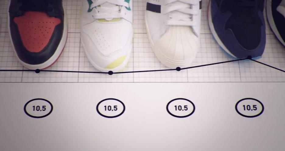 Asphaltgold Fittingroom  Sneaker Shoe Sizeing App