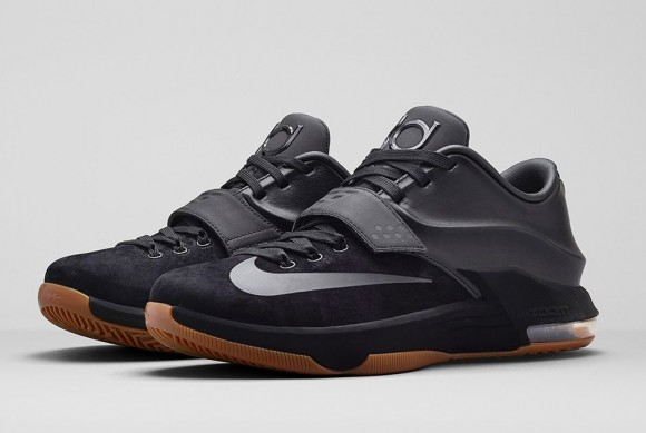 nike kd 7 black suede for sale
