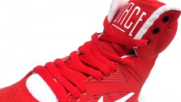 Nike Air Force 180 Alta Rojo 68nur