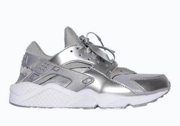 Nike Air Huarache Metallic Silver \u2013 Available Now1