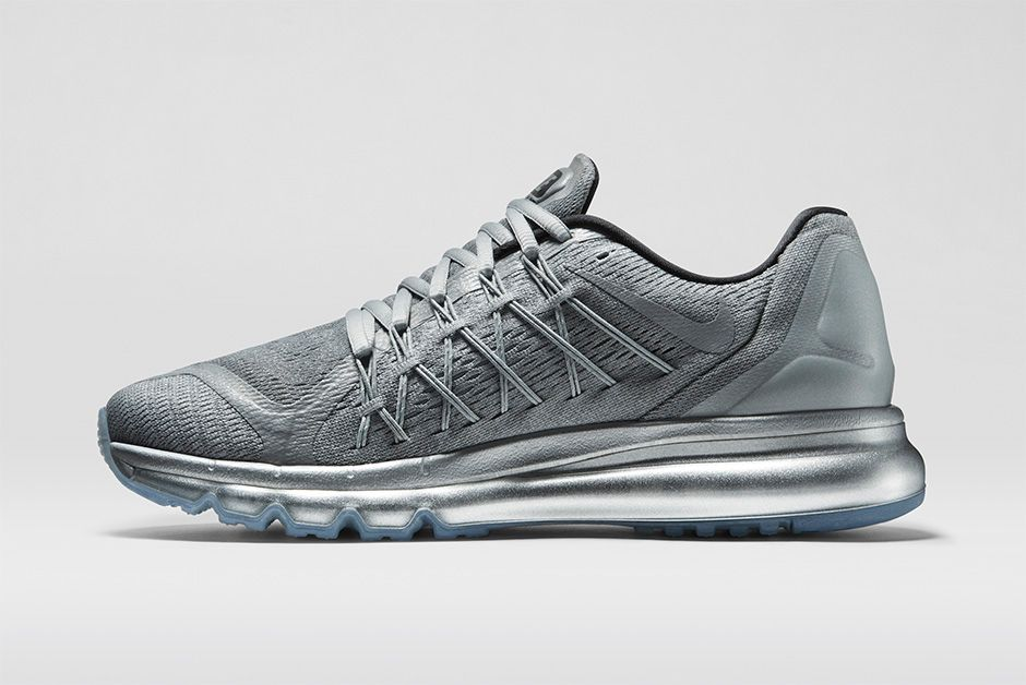 nike air max 2015 reflective silver men's watches