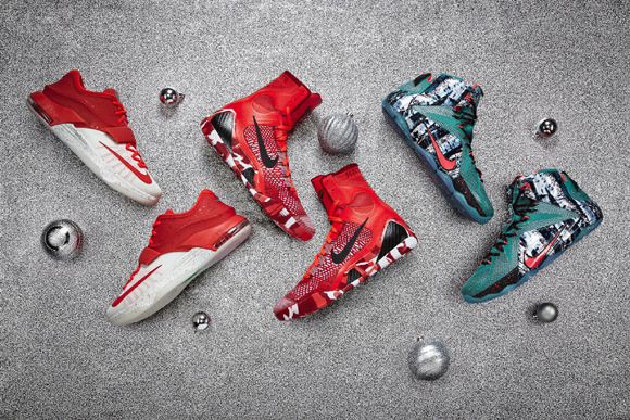 Nike Basketball Debuts the 2014 Christmas Collection 1
