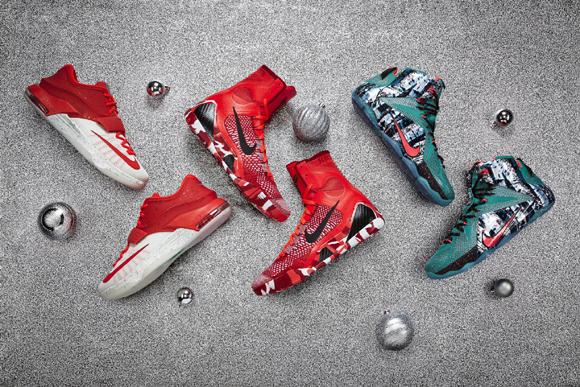 Nike Basketball Debuts the 2014 Christmas Collection 1