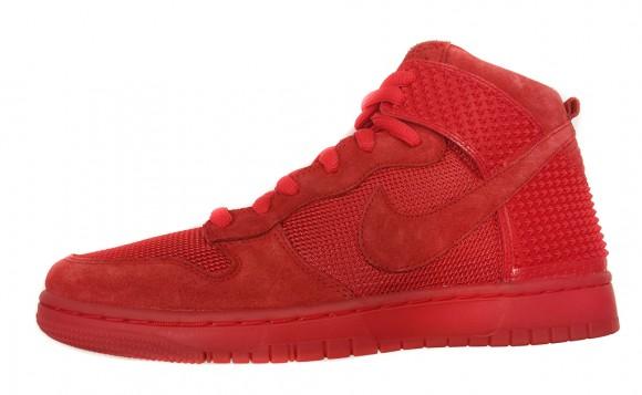 Nike Dunk High CMFT Premium QS 'Red October'