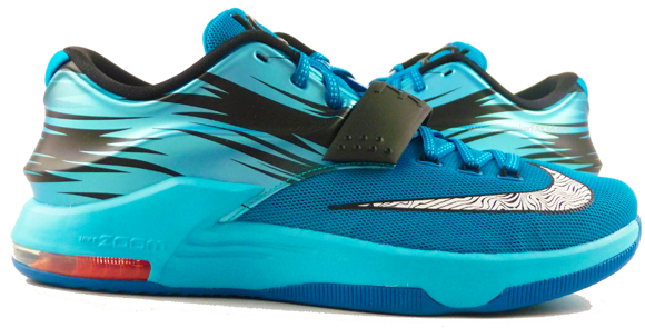hot sale online 131db af17c Nike KD 7 'Lacquer Blue' - Links Available Now - WearTesters