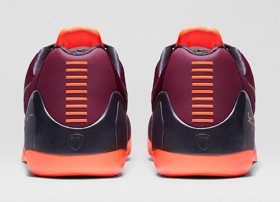 buy online 3c91f 92c95 Nike Kobe 9 Em Deep Garnet