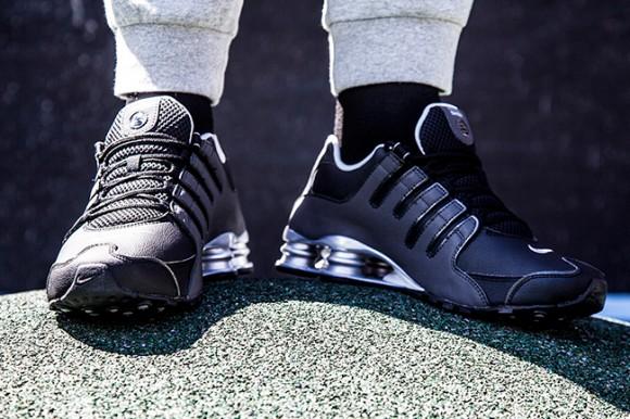 Nike Shox NZ 'Reflective Silver'-1