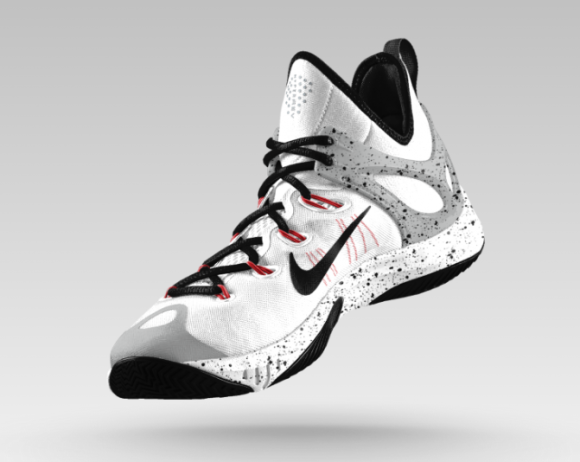 nike kd 2014 black and white hyperrev