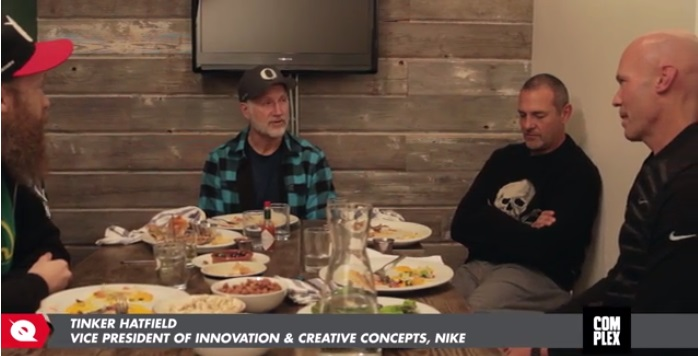 VIDEO Tinker Hatfield Interview in Beaverton, Oregon Pt. IV