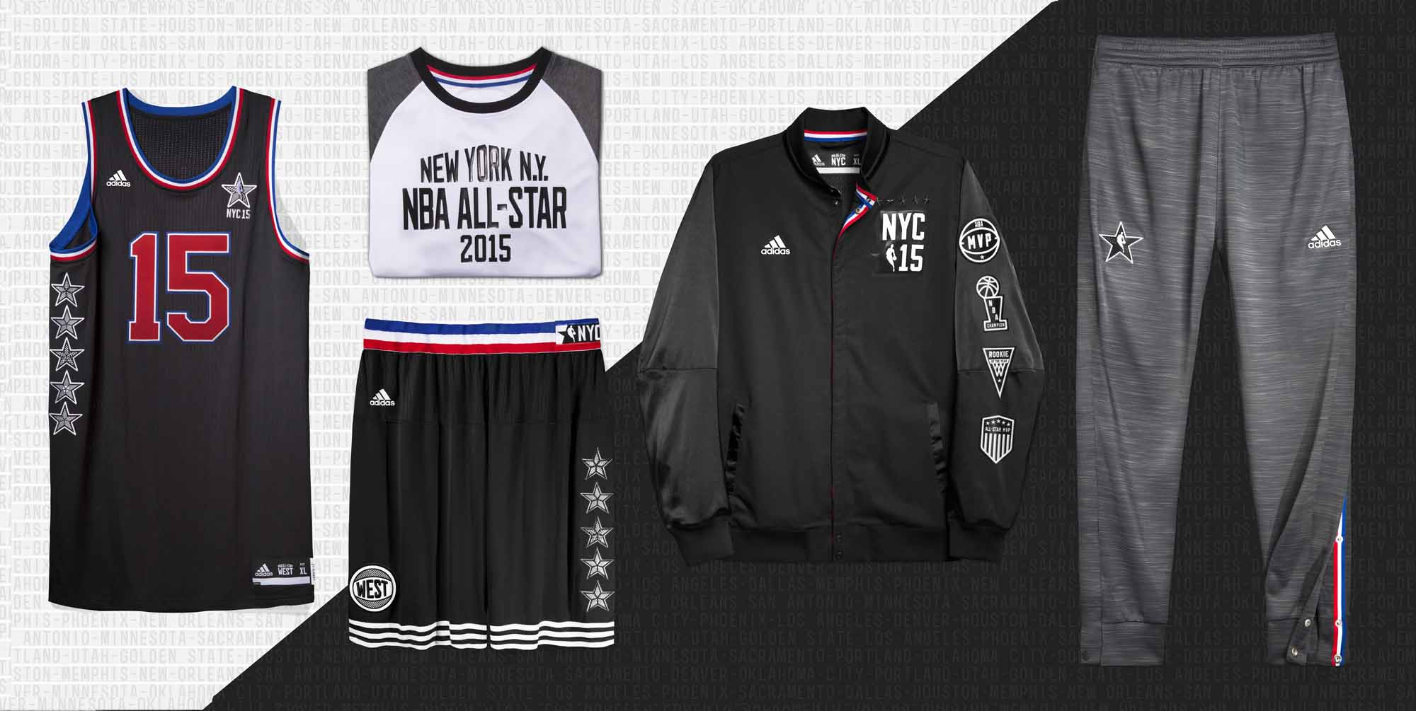 2015 Nba All Star Uniforms By Adidas Detailed Look