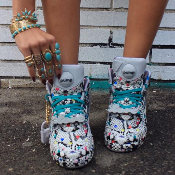 melody reebok pumps sneakers