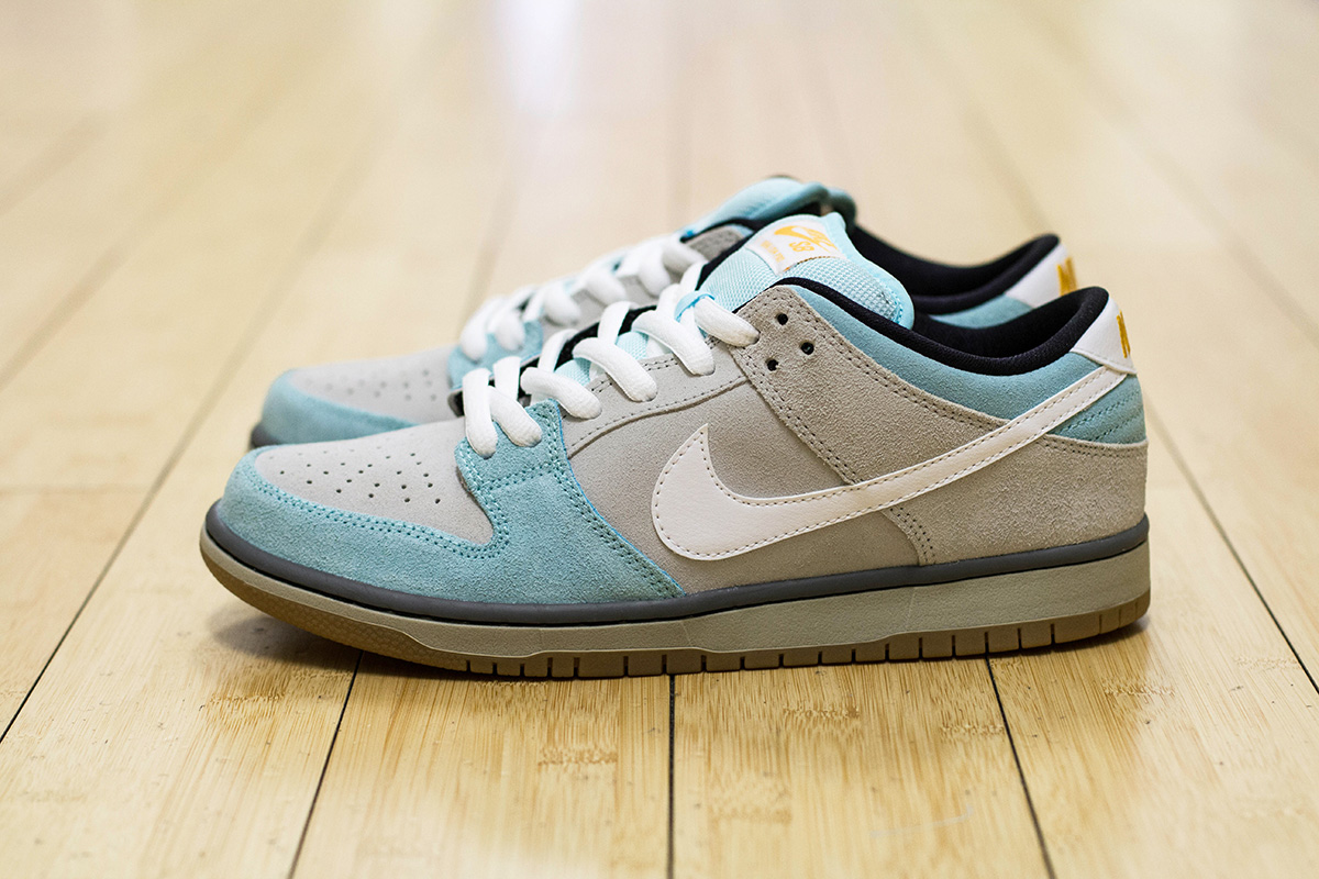 plus x nike sb dunk low 39 gulf of mexico 39 weartesters. Black Bedroom Furniture Sets. Home Design Ideas