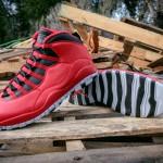 Air Jordan 10 Retro 'Bulls Over Broadway' – Detailed Images