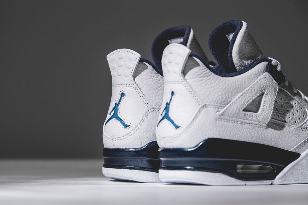 huge discount fb803 7a421 ... official images release information kicksologists a7697 762b4  amazon air  jordan 4 retro columbia legend blue detailed look ffcc7 158fd