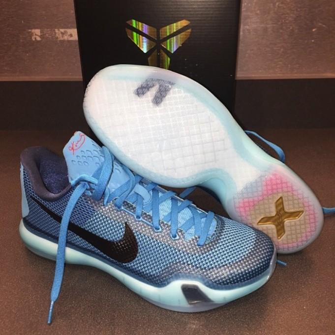 Nike Kobe 10 'Blue Lagoon' ...