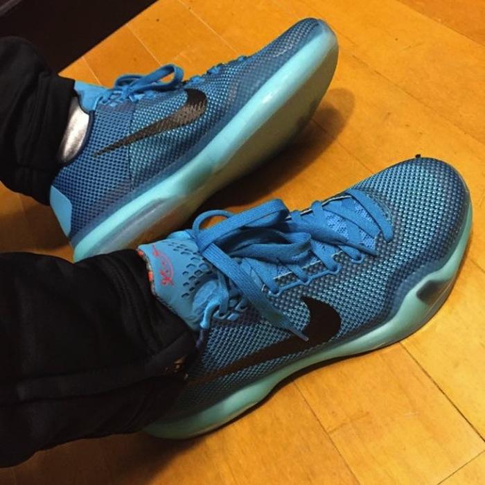 ... Nike Kobe 10 'Blue Lagoon'1 ...