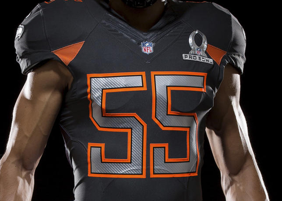 the latest a2262 eb340 Nike NFL Pro Bowl Uniforms Unveiled 3 - WearTesters