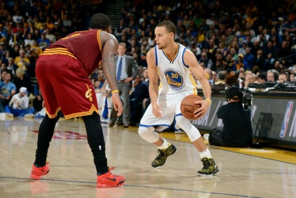 The Curry 1 Makes Its On Court Debut Against the Cavaliers ...