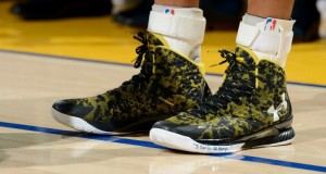 The Curry 1 Makes Its On Court Debut Against the Cavaliers