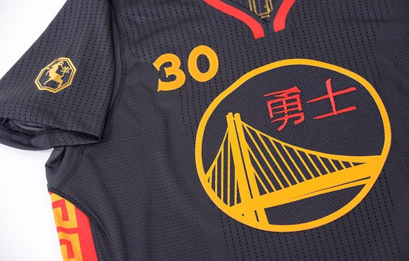 Warriors Unveil First Ever Chinese New Year Uniforms