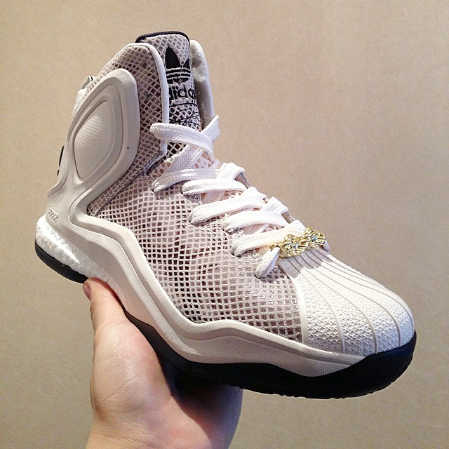 adidas d rose 5 boost grey