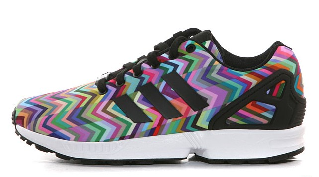adidas ZX Flux 'Multicolor Chevron' WearTesters