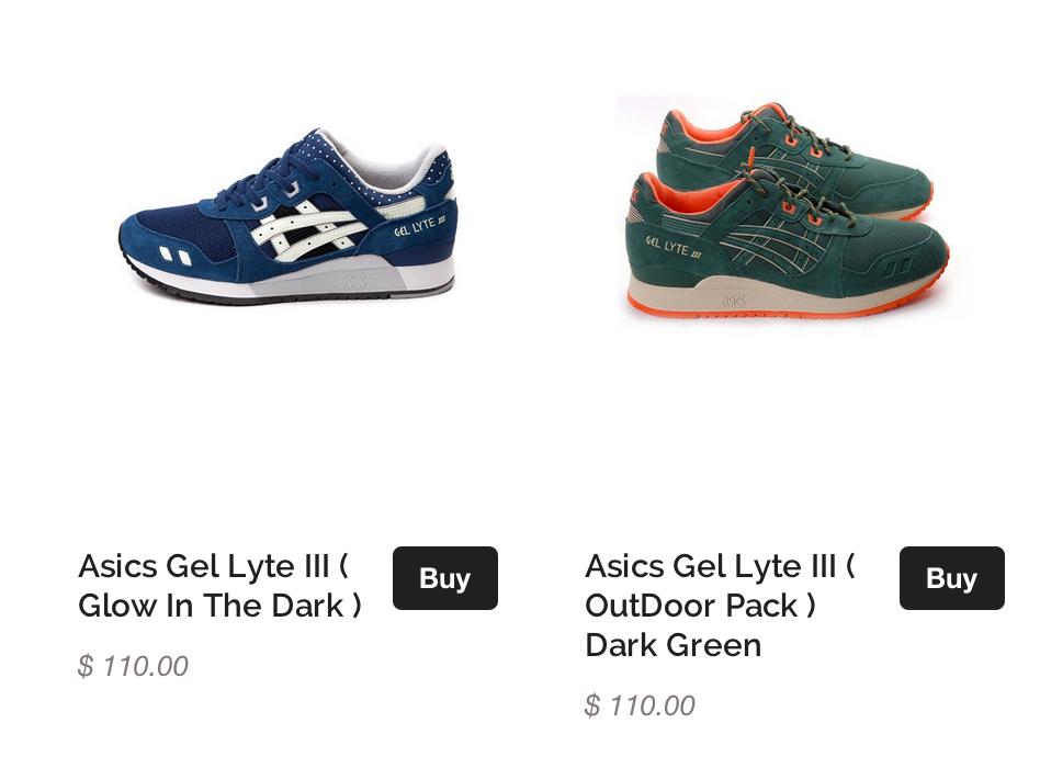 asics for sale