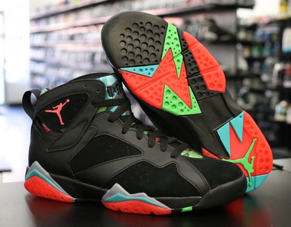 nike air jordan retro 7 vii marvin the martian