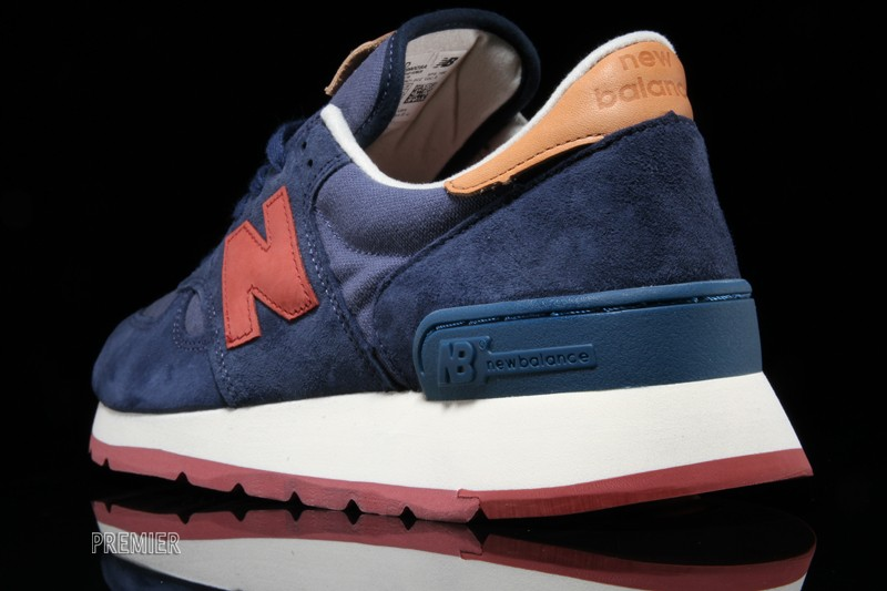 new balance 990 distinct weekend