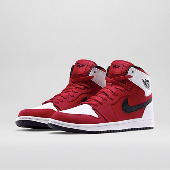 air jordan 1 retro high red white