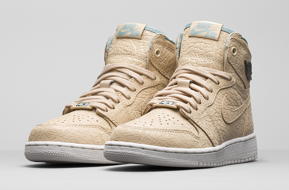 Girls Air Jordan 1 Retro 'Sand Dune' ...