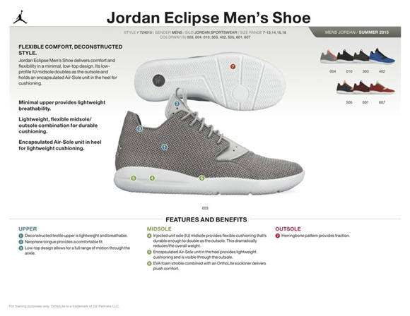 jordan eclipse imitacion