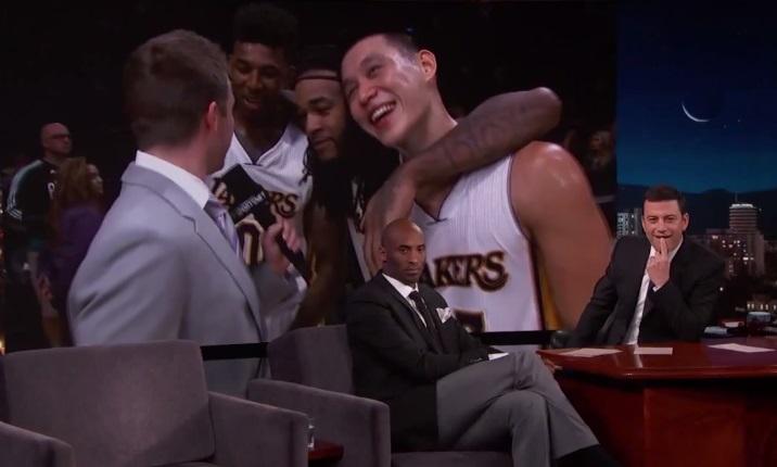 Kobe Bryant is Heated on Jimmy Kimmel Live
