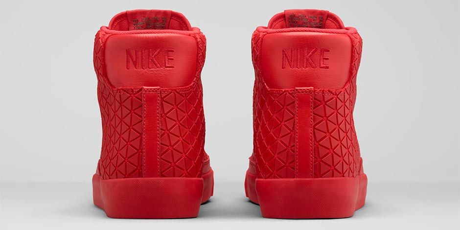Nike Blazer Mediados Qs Métricas Universitario Red 5 S7jEnJ