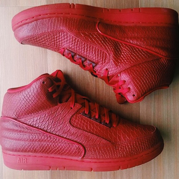 Nike Air Python 'All-Red' - WearTesters